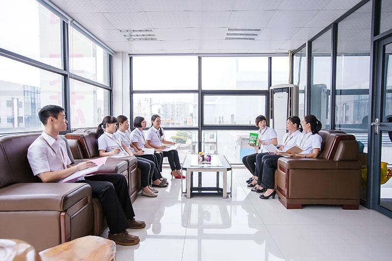 尚谷食品精英团队会议