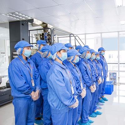 尚谷食品生产团队
