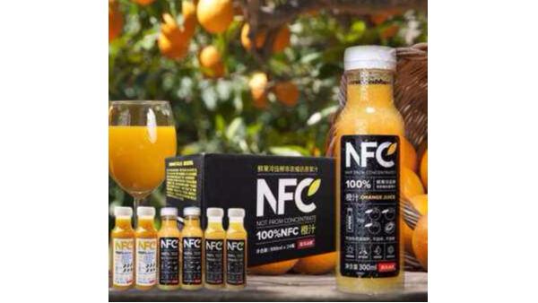 没时间和功夫等一杯鲜榨果汁,NFC果汁能帮到你