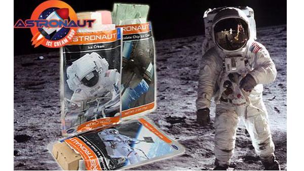 无需冷藏的太空冰淇淋,你吃过吗?