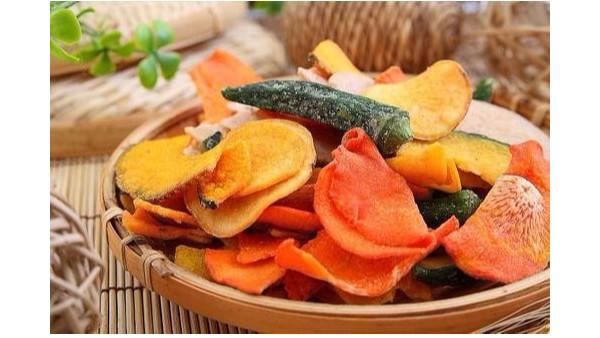 果蔬脆与传统膨化食品的区别